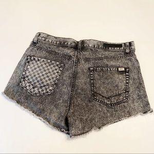 Vans Stonewash High Waisted Cutoff Shorts